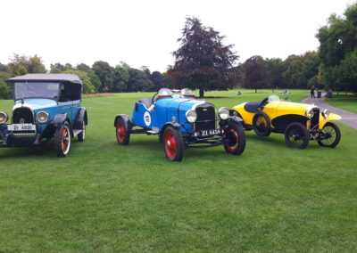 Vintage Cars Display