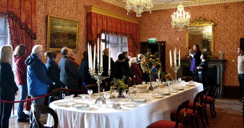 ISL Tour Dining Room Kilkenny Castle